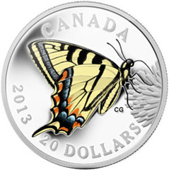 Canadian Butterfly coin