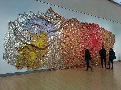 El Anatsui at the Brooklyn Museum