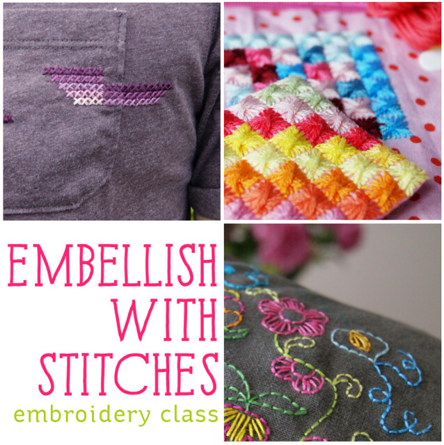 Embellish with Stitches