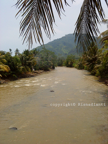 Sungai Tak tahu namanya di Kampung Pasir Suren