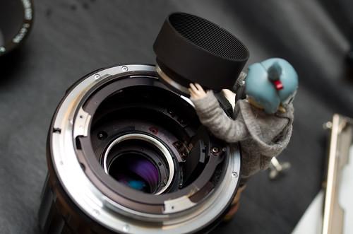 Lens maintenance