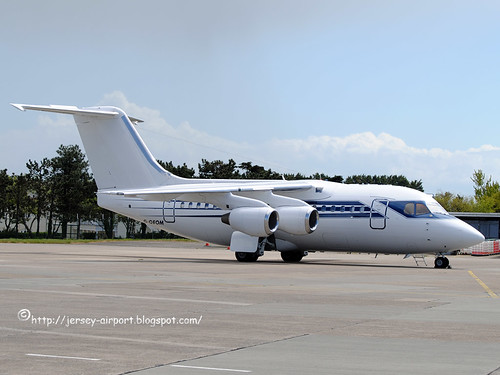 G-OFOM British Aerospace 146-100 by Jersey Airport Photography