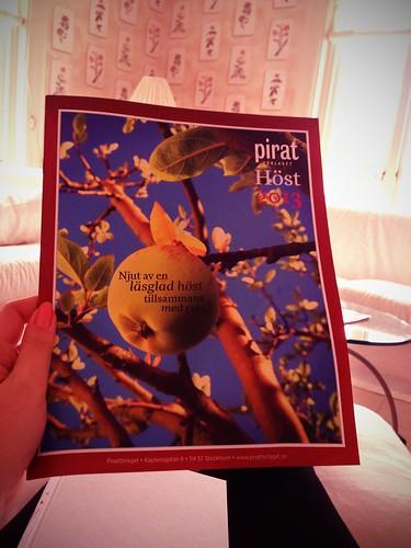 Läser på inför hösten