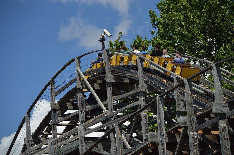 Tomahawk on the Lift Hill