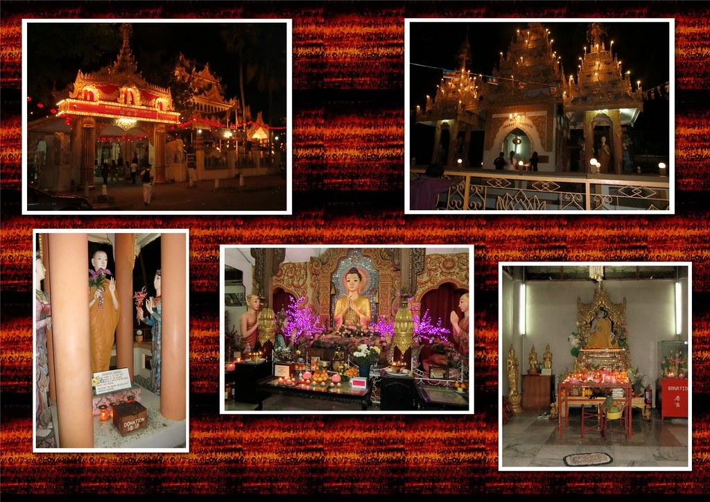 The Dhammikarama Burmese Temple Buddha Wesak Evening Flickr