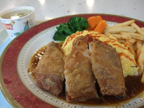 川味椒麻雞腿蛋包飯