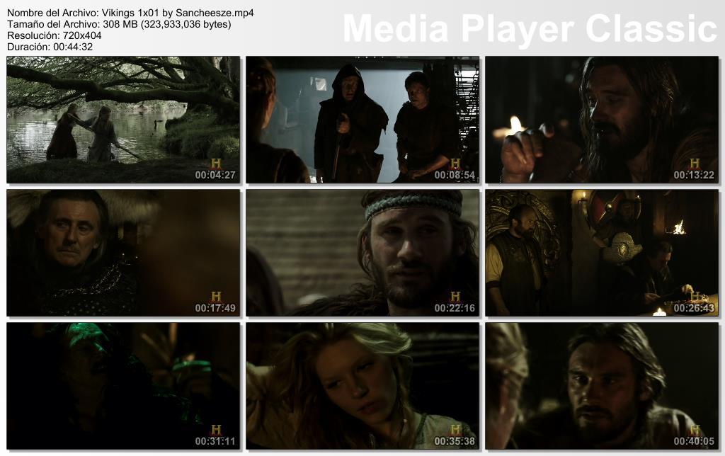 [Serie] Vikings - Temporada 1 [9/9] [Vo.Se | HDTV | ZS]