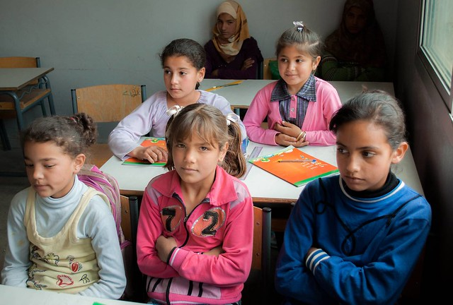 UNHCR News Story: A learning curve for young Syrian refugees at model school in Lebanon