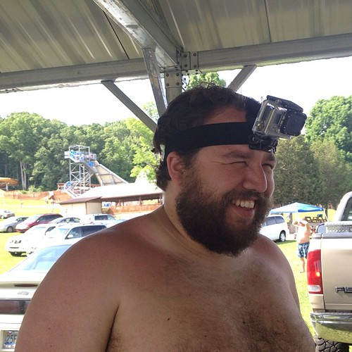 GoPro at the water park