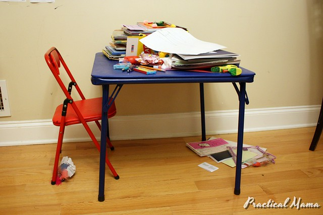 DIY Children's Craft Table