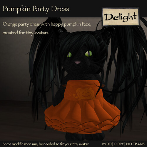 Pumpkin Part Dress
