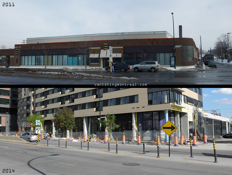 Before and After : Old bus depot