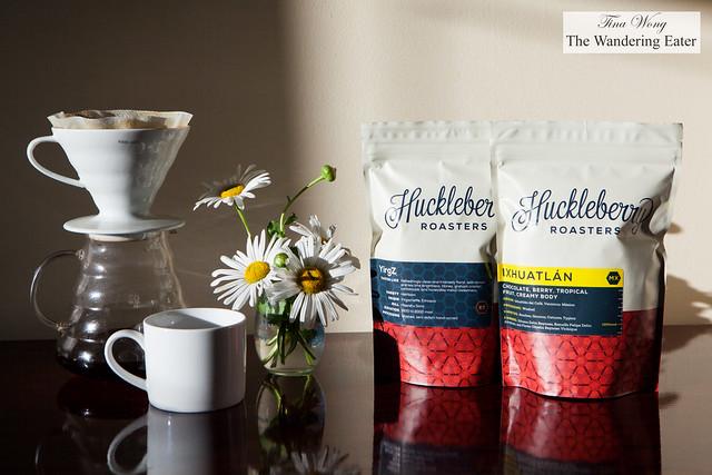 Huckleberry Roasters - Ethiopia YirgZ & Mexico Ixhuatlán beans