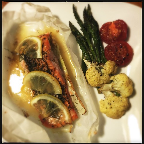 Fennel lemon salmon