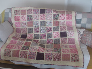 Back of the quilt