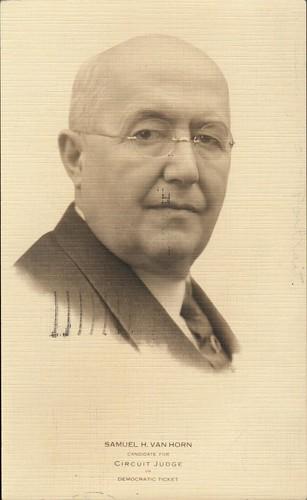 Front: Samuel H. Van Horn