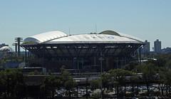 Arthur Ashe Stadium With Its NEW Roof; Corona, New York