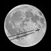 Full Moon  -  2016-08-18  -  view from Pombal,  Portugal by VitorJK