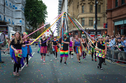 Our Jolly Jaunt To Manchester Pride Parade 2016 Photo's Courtesy Of Alan Hamer
