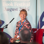 Janet Ellis | The former Blue Peter presenter introduces her debut novel, The Butcher's Hook © Alan McCredie