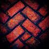 Fishscale  brick pattern, sidewalk in front of Washington County Historical Society. #nashvilleil #washingtoncountyil #washingtoncountyhistoricalsociety #bricks #theground #atmyfeet #textures