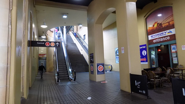 Stairs to Central Railway, Nikon COOLPIX L340
