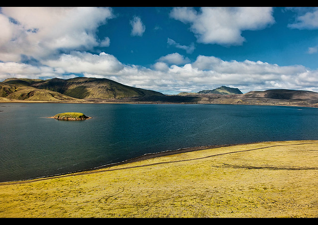 The beautiful scenery of landmannalaugar iceland flickr photo sharing - Beautiful panoramic view house to take full advantage of the scenery ...