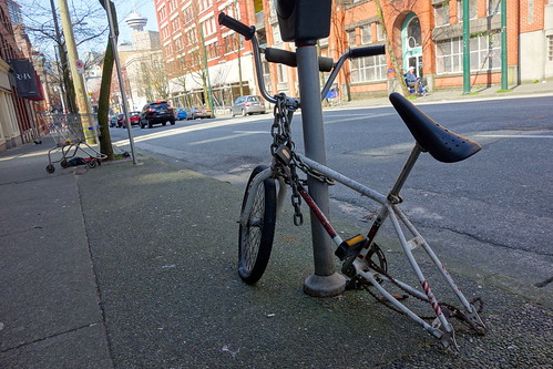 Sad trendy bike Seattle