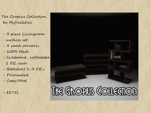 gropius set by Myficalities