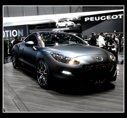 Peugeot RCZ by little_frank