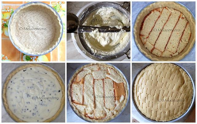 Cassata siciliana al forno fase per fase