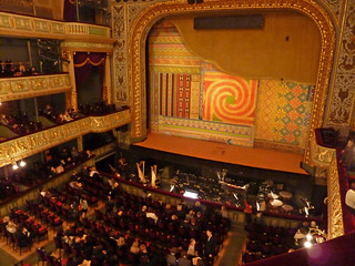 Inside the National Opera House - intermission