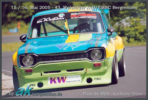 15.- 16.05.2005 • 43. Wolsfelder AvD/EMSC Bergrennen • Andreas Kokor • Ford Escort Mk1
