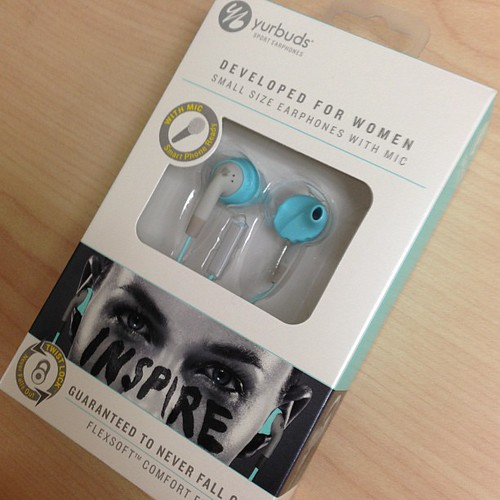 My gift to myself for subjecting myself to another half. #aqua #yurbuds