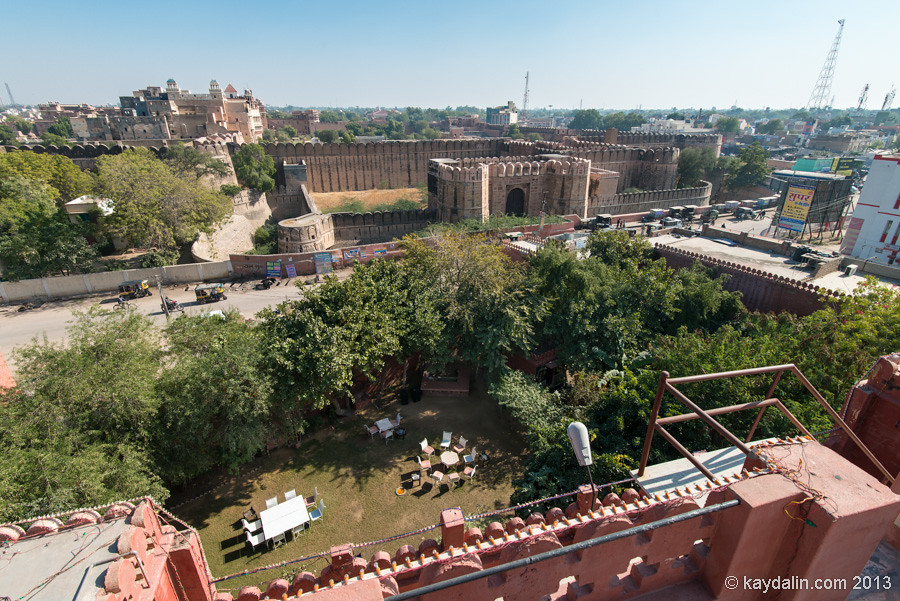 Bikaner. Viewpoint. India