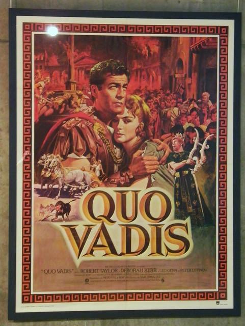 Quo Vadis (French poster) Mervyn LeRoy, 1951