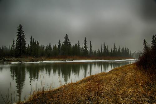 calgary reflections river alberta elbowriver weaselhead