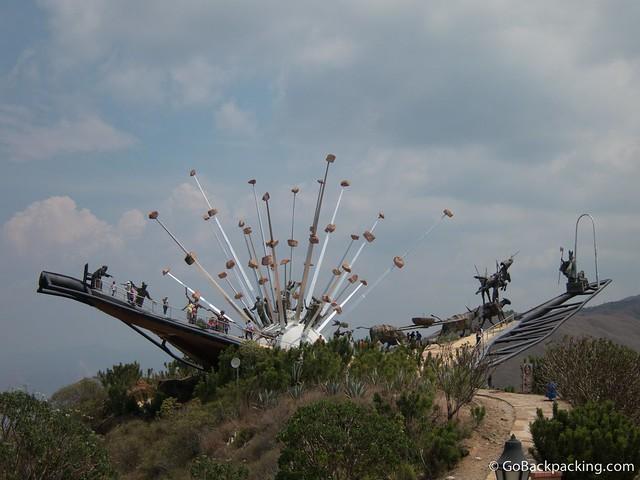 Monument to Santanderean culture