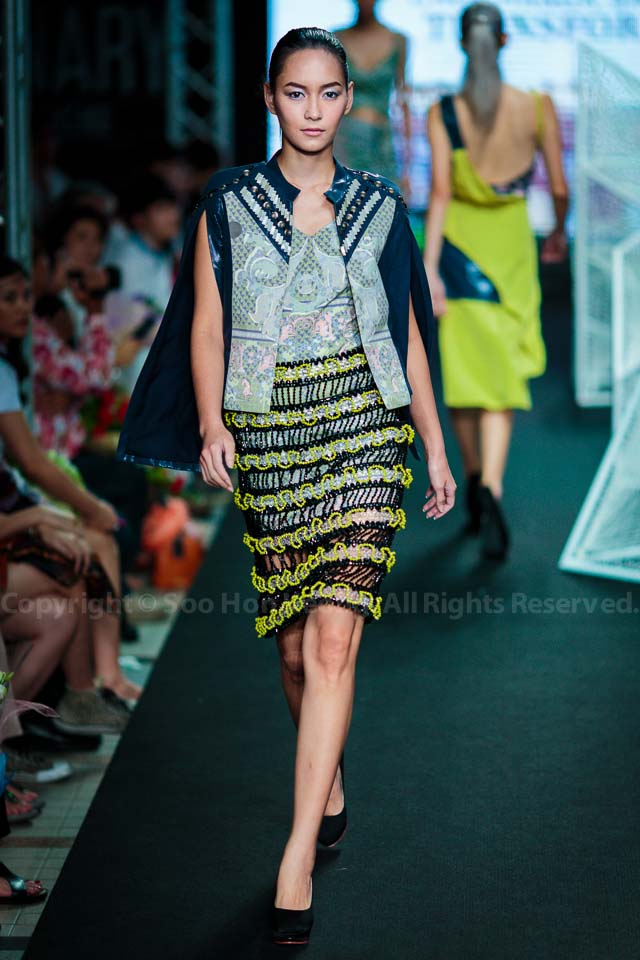 FASH by Srinakharinwirot University (Side B) fashion showcase @ Bangkok, Thailand