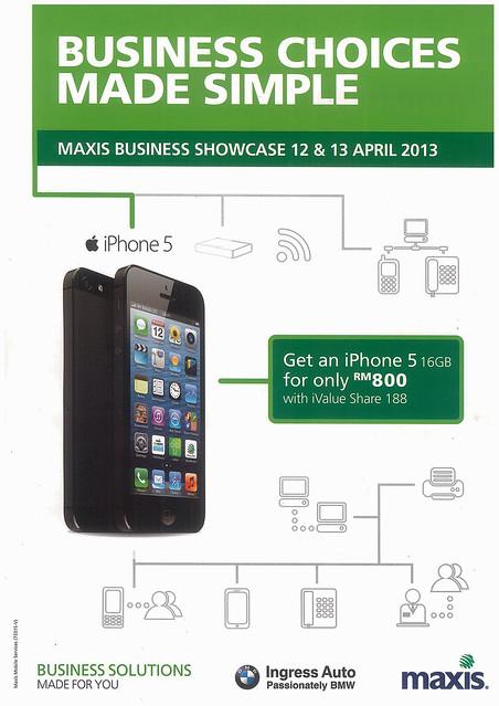 Maxis Business Showcase 12 & 13 April Ingress Auto 1