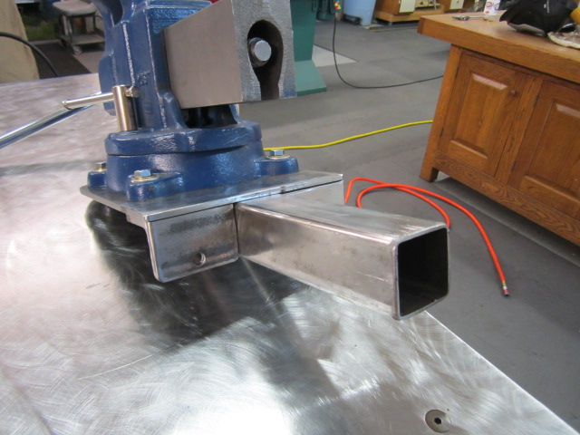 Welding table/ bench I\'m building what would you add to it? - Page 2 ...