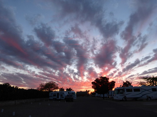 Arizona Sunset by RV Bob