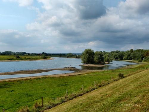 The river IJssel