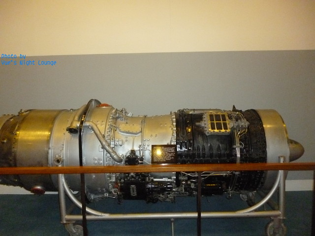 飛行工藝技術區 勞斯萊斯艾文RA29 533R渦輪噴射式飛機引擎 1