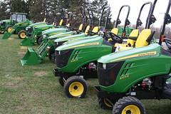 outdoor power equipment, riding mower, vehicle, agricultural machinery, land vehicle, tractor,