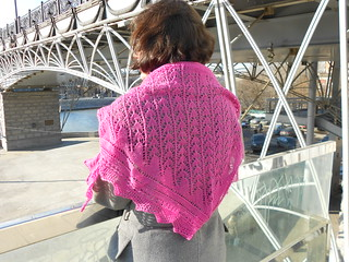 Snowdrop shawl by Stephanie Pear-McPhee