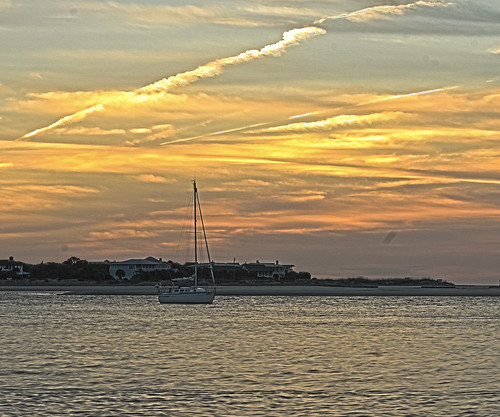 Sunrise Over The Back River
