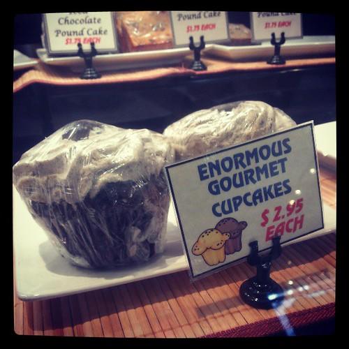 Enormous Gourmet Cupcakes @Silverglades...