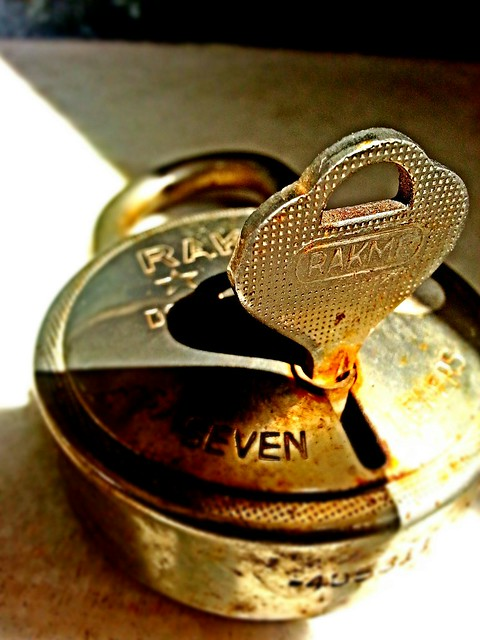 My first click - Lock & Key :)