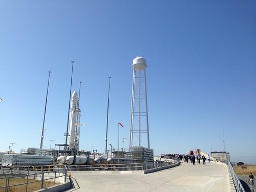 On the ramp up to Antares